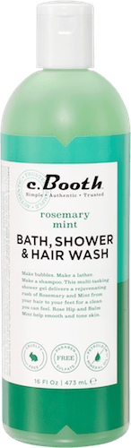 rosemary mint BATH, SHOWER & HAIR WASH