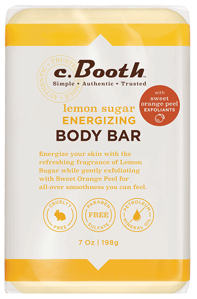 lemon sugar ENERGIZING BODY BAR