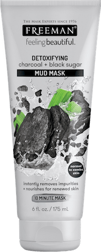 DETOXIFYING charcoal + black sugar