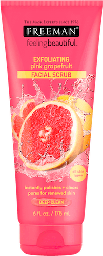EXFOLIATING pink grapefruit