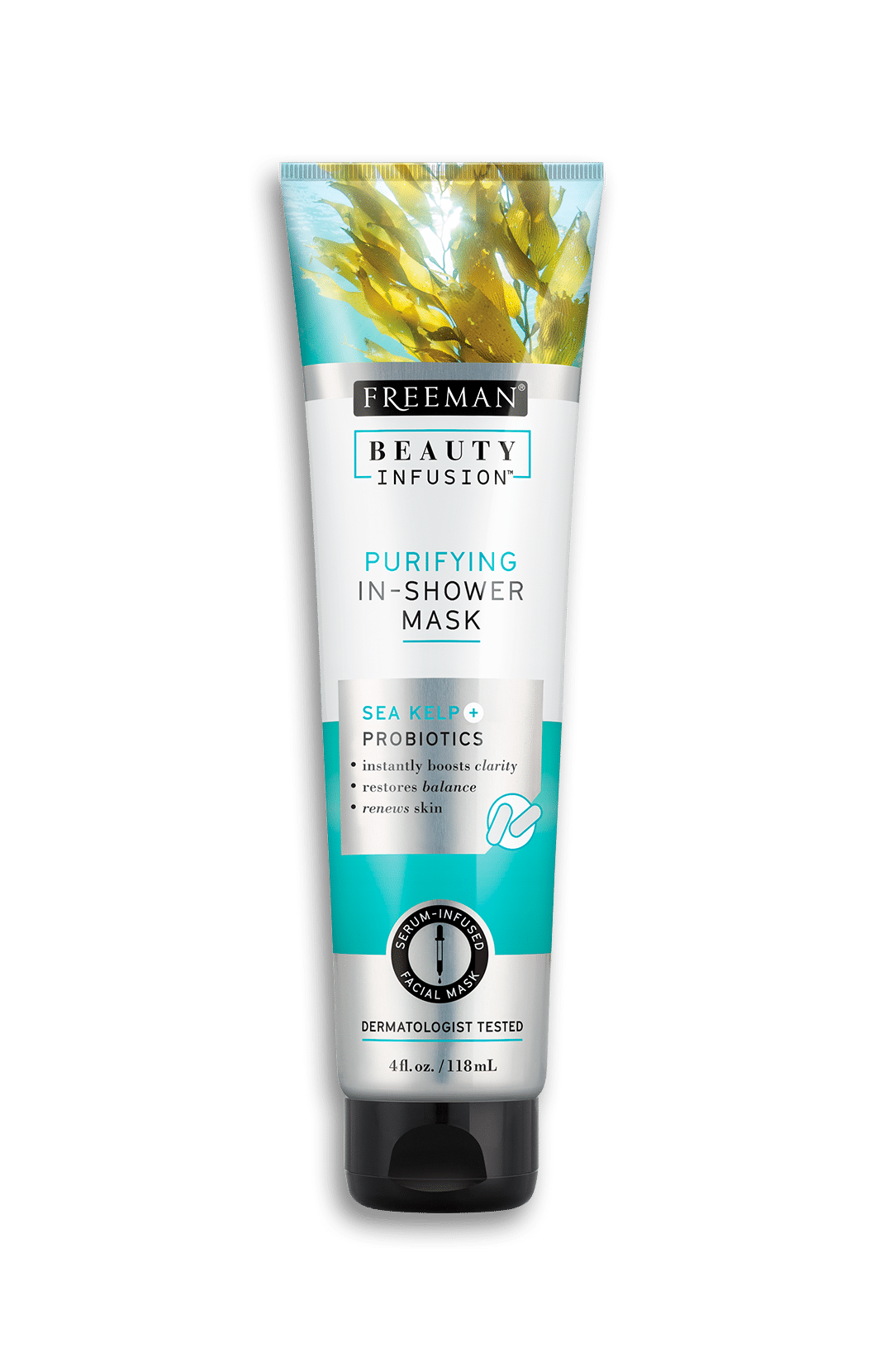 PURIFYING IN-SHOWER MASK SEA KELP + PROBIOTICS