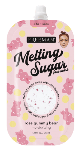 Melting Sugar Moisturizing Rose Gummy Bear Face Mask