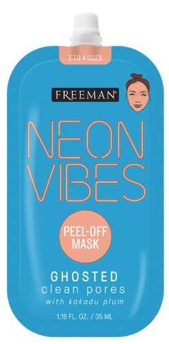Neon Vibes Ghosted Clean Pores Kakadu Plum Peel-Off Mask