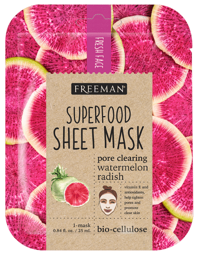 Superfood Pore Clearing Watermelon Radish Sheet Mask