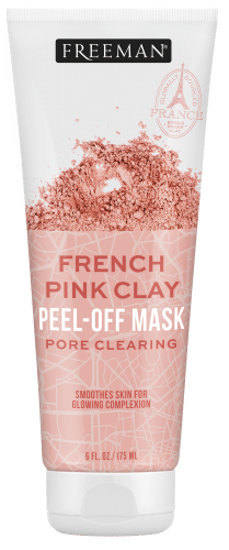Pore Clearing French Pink Clay Peel-Off Mask