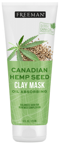 Oil Absorbing Canadian Hemp Seed Clay Mask