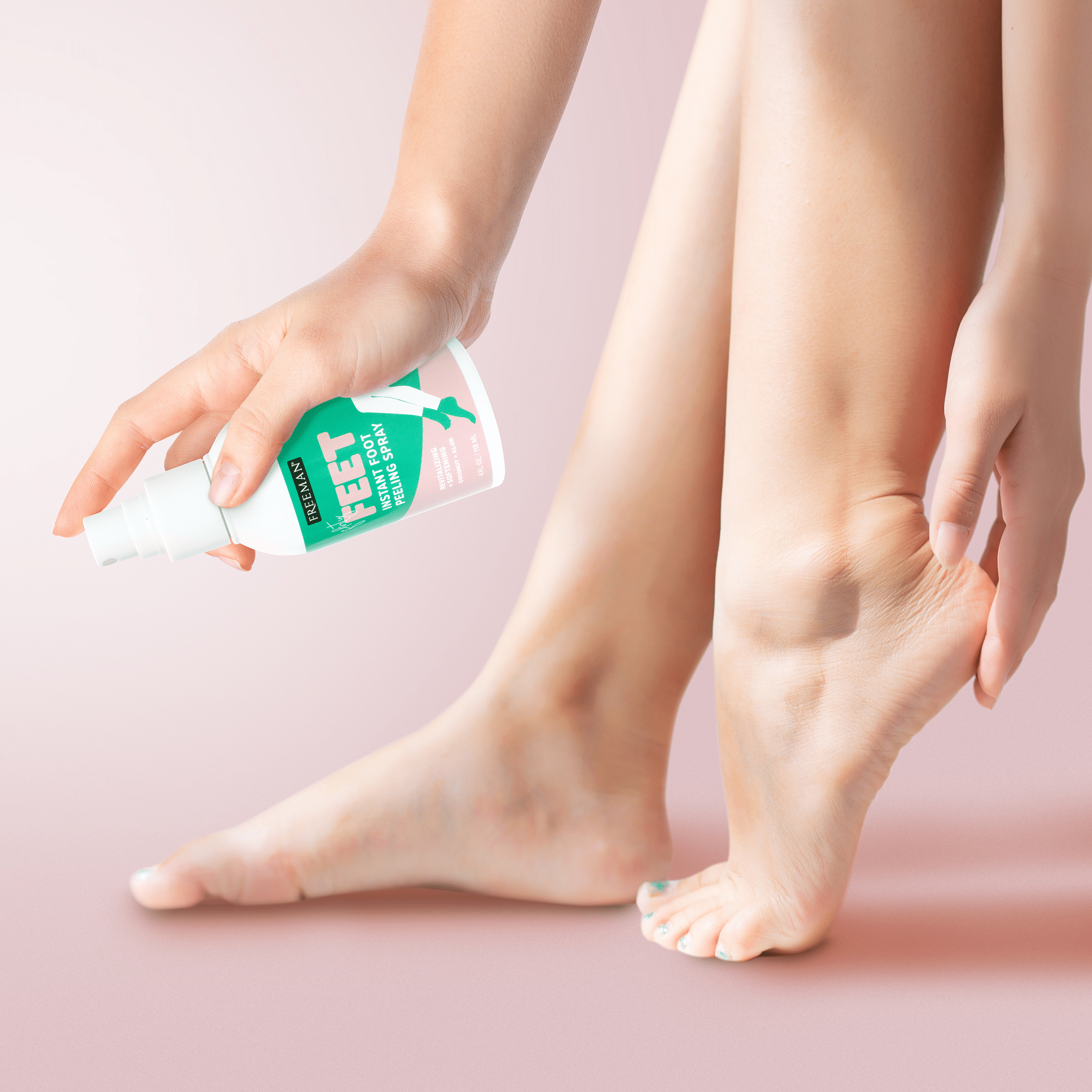 FLIRTY FEET instant FOOT PEEL SPRAY